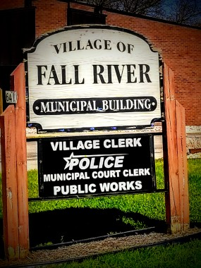 Fall River, Wisconsin Village Hall