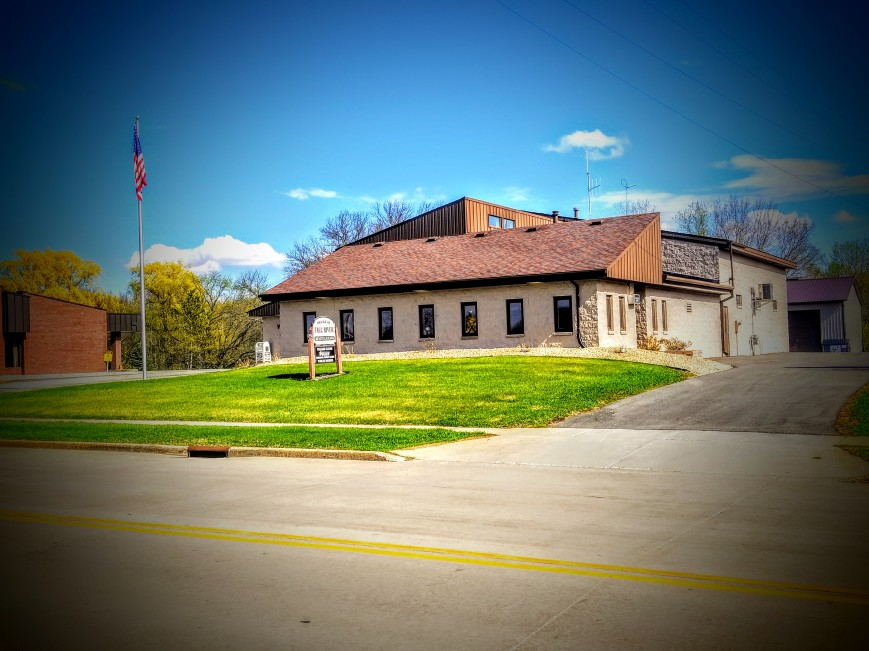 Fall River, Wisconsin Village Hall. (3)