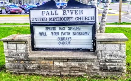 Fall River United Methodist Church Fall River, Wisconsin